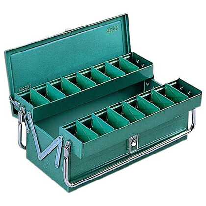 RSD高級二段式ボックス ハイクオリティボックス 工具箱   RSD-411