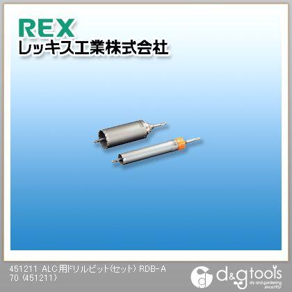 ALC用ドリルビット(セット)RDB-A70   451211