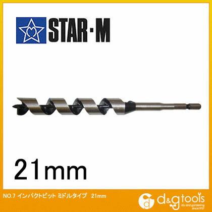 インパクトビット ミドル 21mm (7M-210)