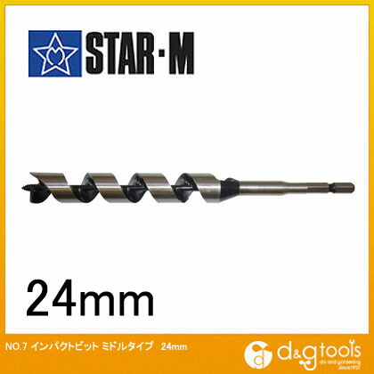 インパクトビット ミドル  24mm 7M-240