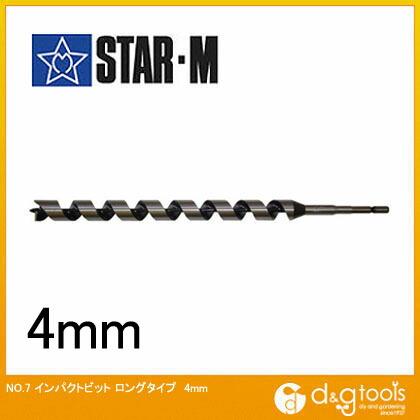 インパクトビット ロング 4mm  (7L-040)