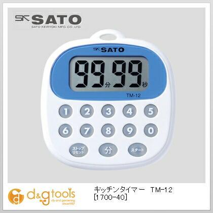 SATO キッチンタイマー TM-12   1700-40