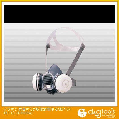 防毒マスク吸収缶面体 (×1個) (GM81SML)
