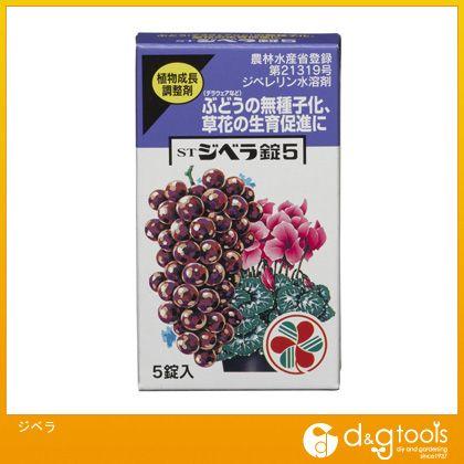 ジベラ(ジベレリン水溶剤)    5 錠