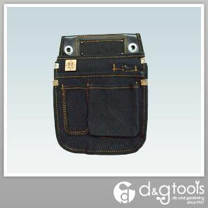 黒布 底丸仮枠袋 小 (KSKN-01)