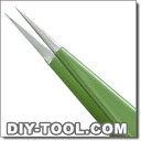 Dumont tweezers No.1 green ノンマグ ( 0304-1-CO )