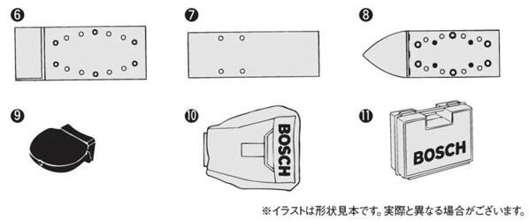 ボッシュ 吸じんオービタルサンダー (GSS23AE/MF)