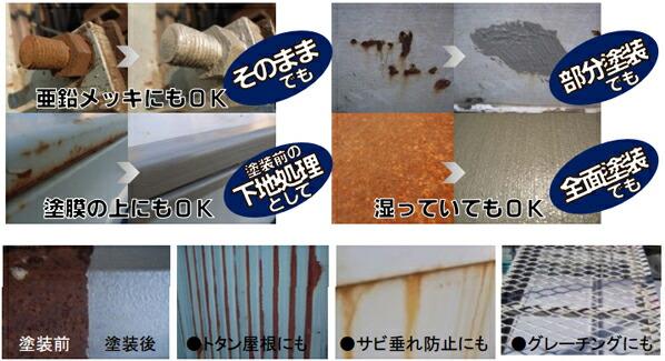 サビーキラーPRO/水性錆転換塗料 速乾型