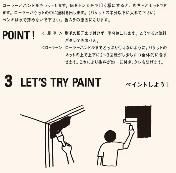 カケルペイント(黒板になる塗料)