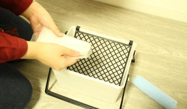 貼ってはがせるフリース壁紙専用のり 道具が揃った簡単スターターキット