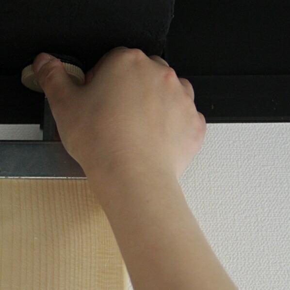 2×4材用 柱が立てられる突っ張り金具セット 2組入