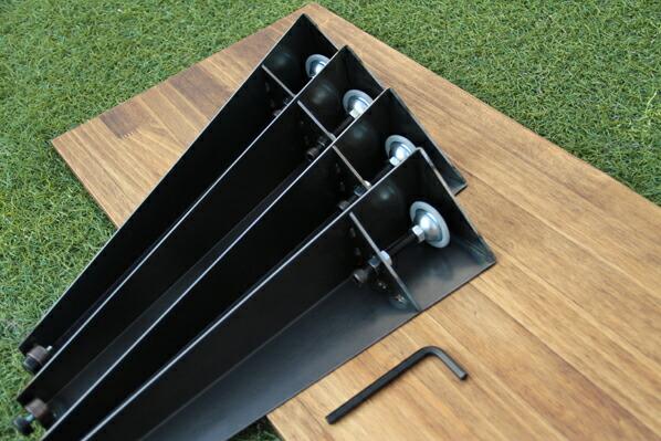 テーブル用アイアン脚 クランプタイプ