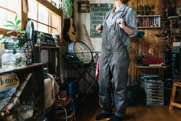 DIY FACTORY IDY �t�����g�W�b�v�I�[�o�[�I�[�� �O���[ XS �iIDY-06B�j