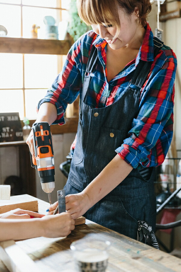 DIY FACTORY IDY フロントジップオーバーオール デニム XS (IDY-06D)