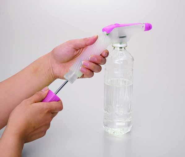 ペットボトル専用加圧式スプレーノズル