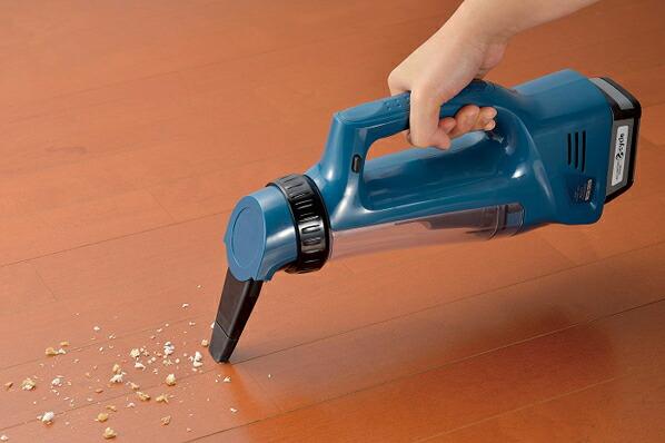 14.4V 充電式 乾湿両用マルチクリーナー