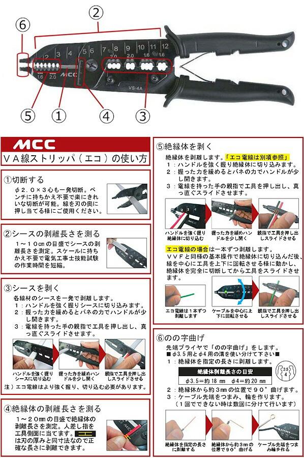 MCC VA線ストリッパ(エコ) (VS-4A)