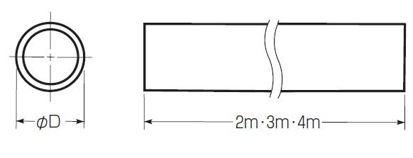 硬質ビニル電線管(J管)