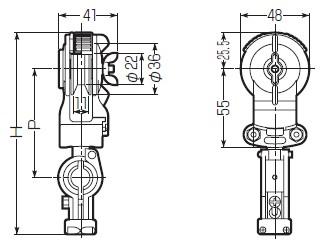 メッセンジャーワイヤー用 0型