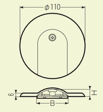 未来工業 フロアープレート (OPF-5M)