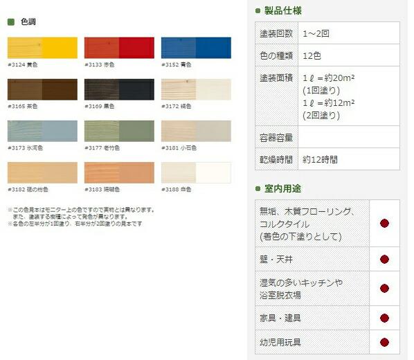 オスモ&エーデル オスモカラー ウッドワックスオパーク 日本の色 氷河色 0.375L (3173)