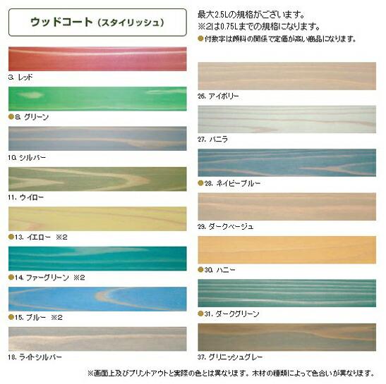 KREIDEZEIT ウッドコート 半透明着色仕上げ マボガニー 2.5L (#4)