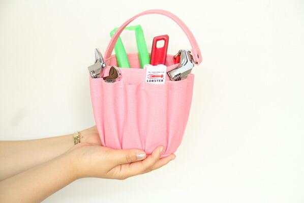 バケツ型ツールバッグ
