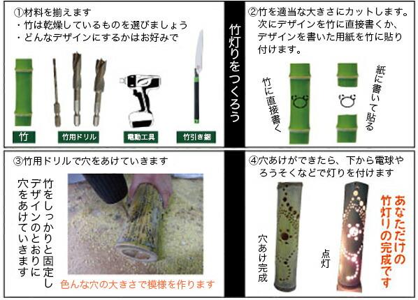 スターエム 竹だけじゃない!多種材対応の 竹用ドリル 6mm  (601-060)