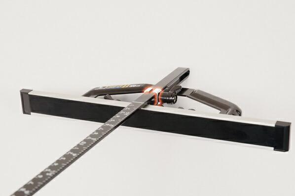 丸ノコガイド定規 Tスライド II 30cm 併用目盛 突き当て可動式