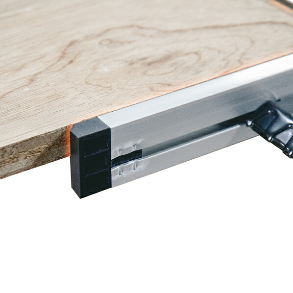 丸ノコガイド定規 Tスライド II 45cm 併用目盛 突き当て可動式