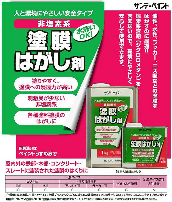 サンデーペイント 塗膜はがし剤 (2000YC)