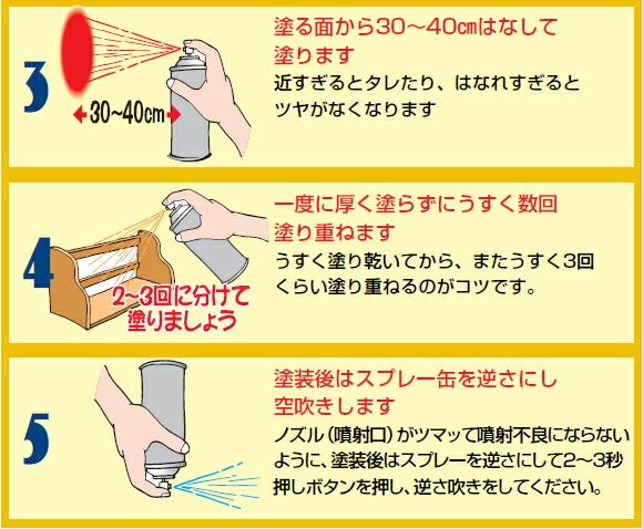 【サンデーペイント】 エナメルスプレー グレー 420ml