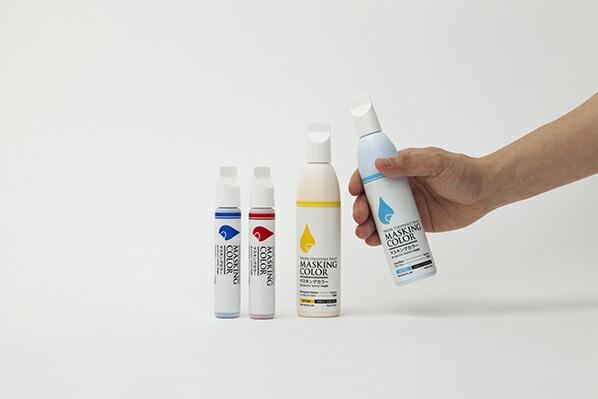 太洋塗料 マスキングカラー 塗ってはがせる水性塗料 ペンタイプ-S アクアブルー 38ml