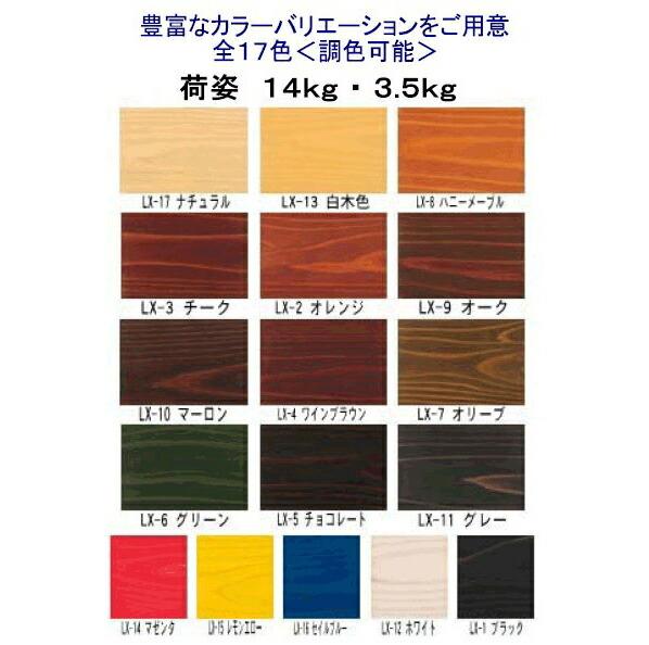 ガードラックラテックス W・ Pステイン(木材保護塗料)