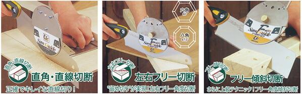 ゼット販売 ソーガイド・エフ 鋸セット (30106)