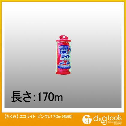 エコライト 水糸 ピンク L170m 4560
