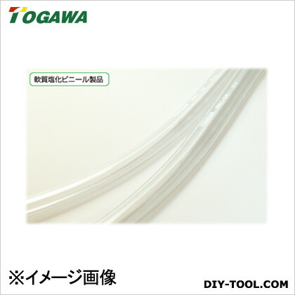 透明ビニールチューブ(透明ホース) 透明 32×37