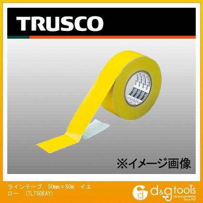 ラインテープ 50mm×50m イエロー (TLT50EAY)