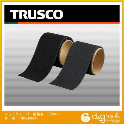 マジックテープ 強粘着 100mm×1m 黒 (TMSD100BK)