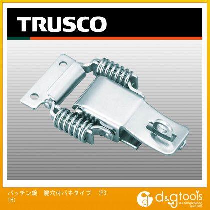 パッチン錠 鍵穴付バネタイプ (P31H) 2個