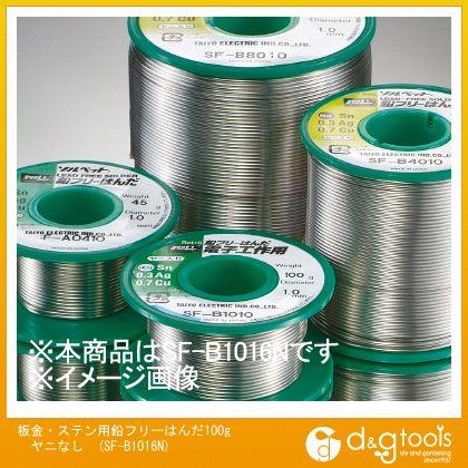 板金・ステン用鉛フリーはんだ100gヤニなし鉛フリーリール巻はんだSFB1016N   SF-B1016N