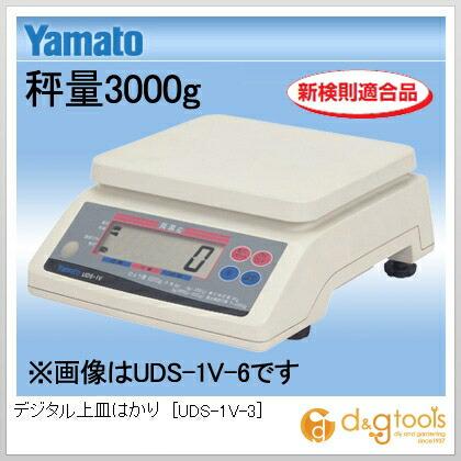 デジタル上皿はかり  秤量3000g UDS-1V-3