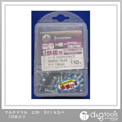 マルチドリル ユニクロ なべ 5×19 (NMD519UN) 110本