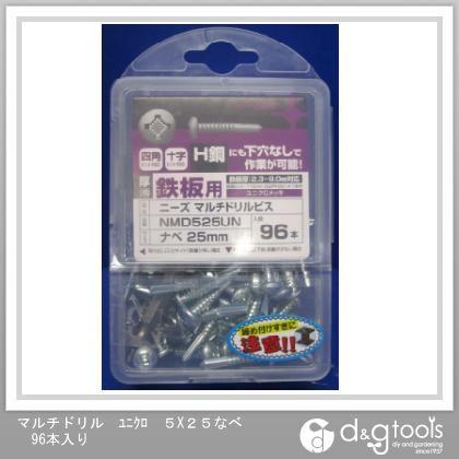 マルチドリル ユニクロ なべ 5×25 (NMD525UN) 96本