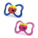 Teething ring Baru's (two sets): Lady bug & lady bug