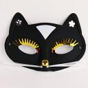 在股票黑豹掩盖黑假面舞会面具小猫面具舞台表演盛事党动物服装产品号