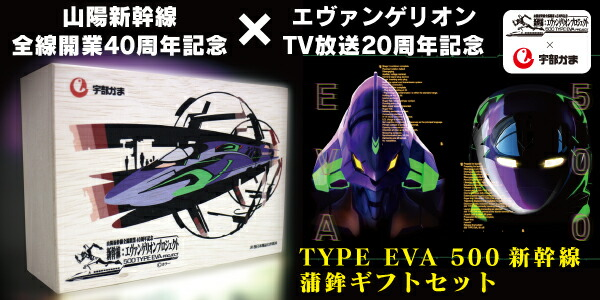 TYPE EVA 500新幹線蒲鉾ギフトセット