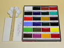 Picture letter set (product made in 24 colors of 顔彩 sumi luck temples)