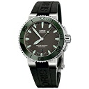 73376534157R/ORIS cages Aquis Date men watch domestic regular article watch WATCH