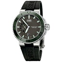 74376734157R/ORIS cages Aquis Small Second Date men watch domestic regular article watch WATCH
